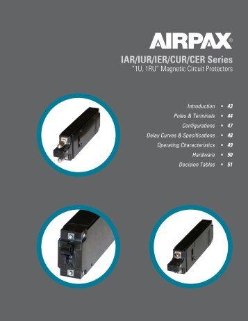 IAR/IUR/IER/CUR/CER Series - Airpax - Sensata