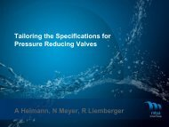Tailoring the Specifications for Pressure ... - Iwa-waterloss.org