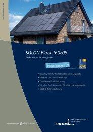 SOLON Black 160/05