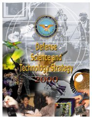 Defense Science and Technology Strategy
