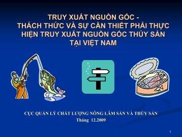 Truy xuất nguồn gốc - SPS Việt Nam