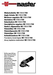 °ˆÓÈ·Îfi˜ ÏÂÈ·ÓÙ‹Ú·˜ WS 115 S 750 - Wurth