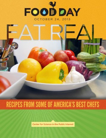 Food Day Cookbook