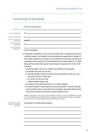 Overseas Boarding Student Guardianship Form