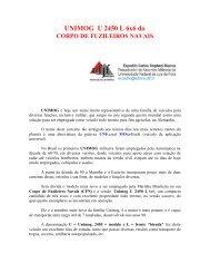 UNIMOG U 2450 L 6x6 do CORPO DE FUZILEIROS NAVAIS