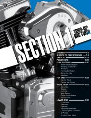 EnginEs 1-2 4 stEps to pErformancE 1-8 Exhaust 1-12 ... - S&S Cycle