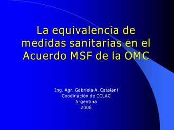Equivalencia - Cclac.org