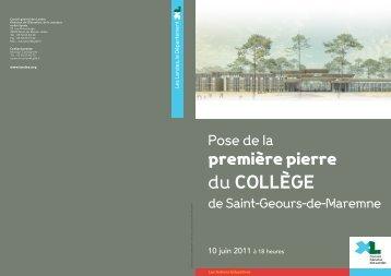Saint-Geours-de-Maremne - Conseil général des Landes