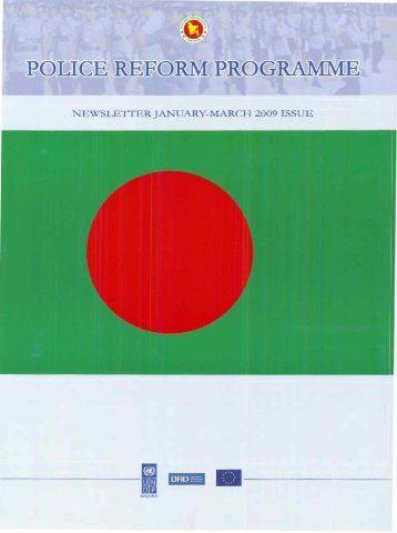 January-March 2009 - Police Reform Programme