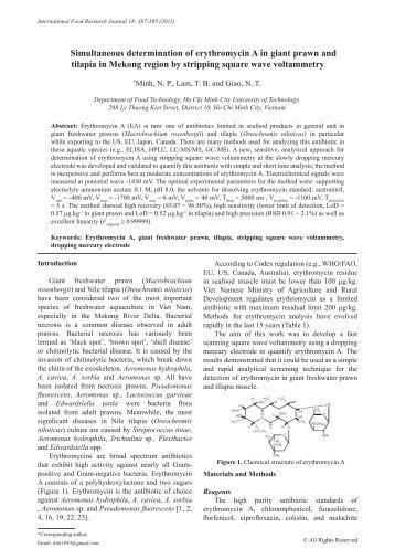 Simultaneous determination of erythromycin A in ... - Ifrj.upm.edu.my