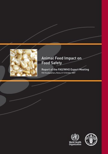 Animal Feed Impact on Food Safety - Cclac.org