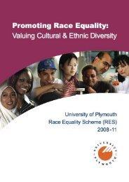 Race Equality Scheme 2008-11 - Plymouth University