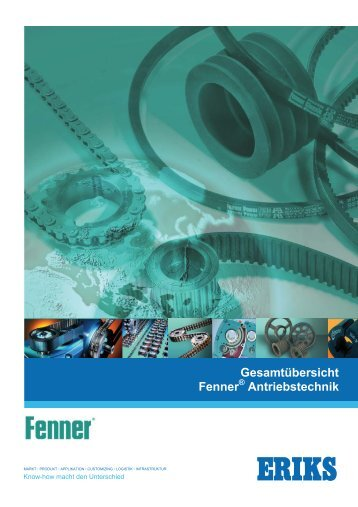 FENNER Gesamtübersicht - Leistungsprogramm online - ERIKS