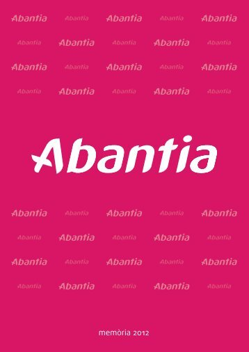 memòria 2012 - Abantia