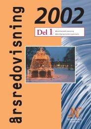 Årsredovisning 2002 - del 1 - Norrköpings kommun