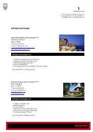 Golf Alpin Card Package - EN - Kitz