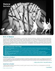 Dance - College of Arts and Sciences - Nova Southeastern University