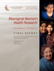 Aboriginal Women's Health Research - British Columbia Centre of ...