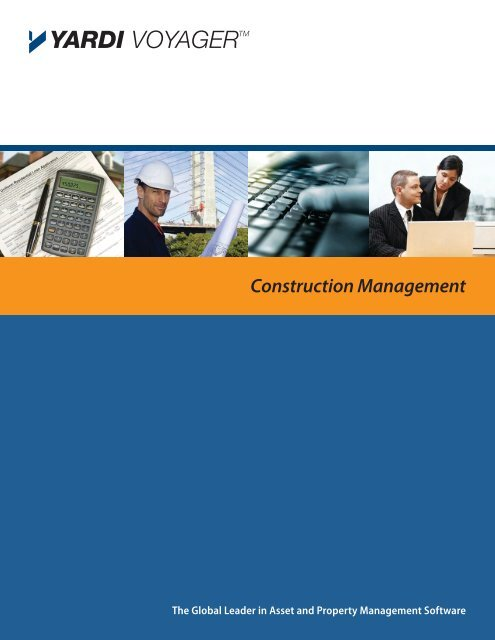 Construction Management - Yardi