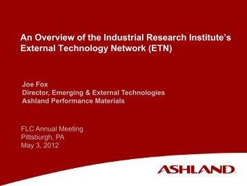 External Technology Network (ETN) - Federal Laboratory ...