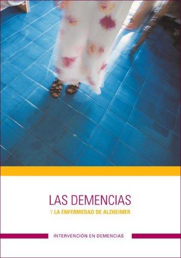 Las demencias y la enfermedad de Alzheimer - Infogerontologia.com