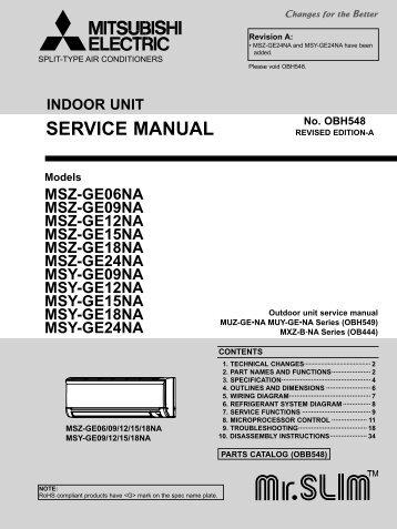 Mitsubishi Mxz3b30na Outdoor Unit Service Manual Free Rh Yumpu Com Mitsubishi  Mr Slim User Manual Mitsubishi Mr Slim User Manual