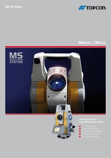 MSAX Leaflet English - Topcon Positioning