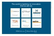 The world is banking on innovation. And so are we. - Silicon Valley ...