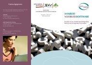 Meer informatie hierover vind je in deze flyer - XIOS Hogeschool ...