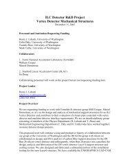 ILC Detector R&D Project Vertex Detector Mechanical Structures