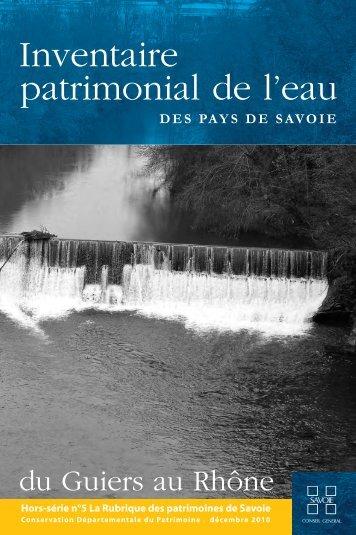 Mise en page 1 - Conseil Général de Savoie