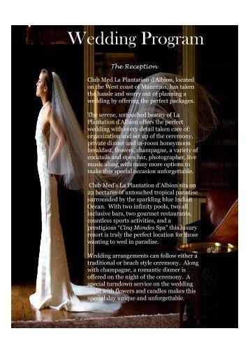PRESTATIONS MARIAGE FINAL 2012