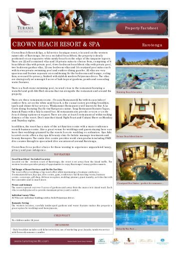 fact sheet brochure island hopper vacations