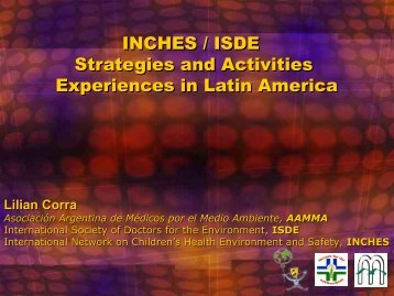 INCHES / ISDE in Latin America Strategies