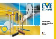 Pulidores para técnica dental - EVE Ernst Vetter GmbH