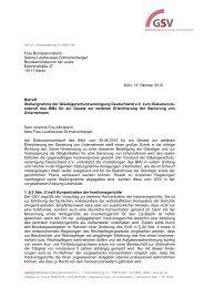 Frau Bundesministerin Sabine Leutheusser ... - Gsv.eu