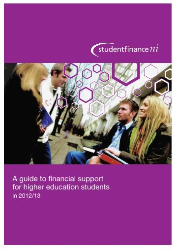 A Guide To Financial Support For Higher ... - Student Finance NI
