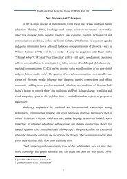 Xue Wang-Final Reflection Paper