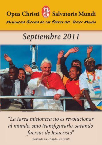 Septiembre 2011 1.0.indd - Misioneros Siervos de los Pobres del ...