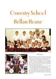 Oswestry School Bellan House