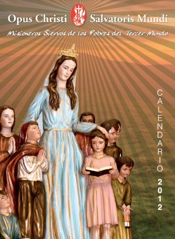 Calendario misioneros 2012.indd - Misioneros Siervos de los ...
