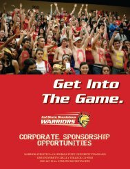 Download Corporate Sponsorship Program Brochure - Cal State ...