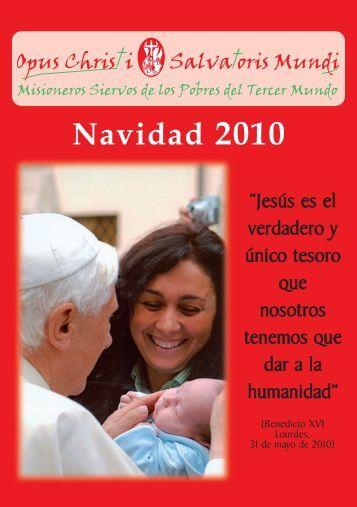 Navidad 2010 - Misioneros Siervos de los Pobres del Tercer Mundo