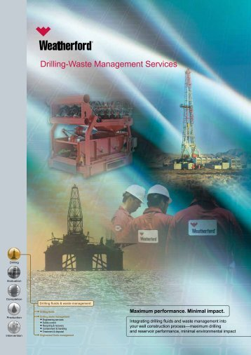 Drilling-Waste Management Services - A4