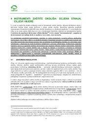 Instrumenti zaštite okoliša - Osječko baranjska županija