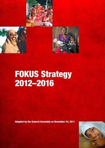 FOKUS Strategy 2012–2016