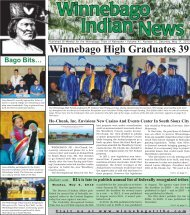 05-11-13 - Winnebago Tribe of Nebraska