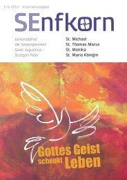 Gottes Geist - Katholische Kirchengemeinde St. Michael, Stuttgart ...