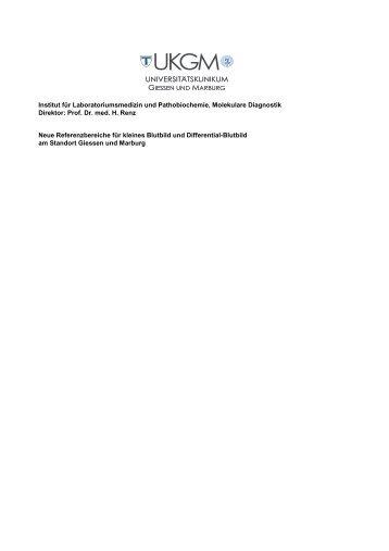 Referenzbereiche Hämatologie 05-2012 V-2