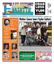 subscribe - East County Gazette